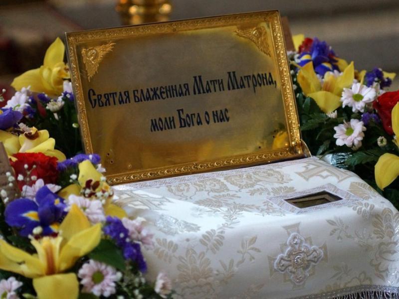 Святые мощи Матроны Московской привезут в Воронеж