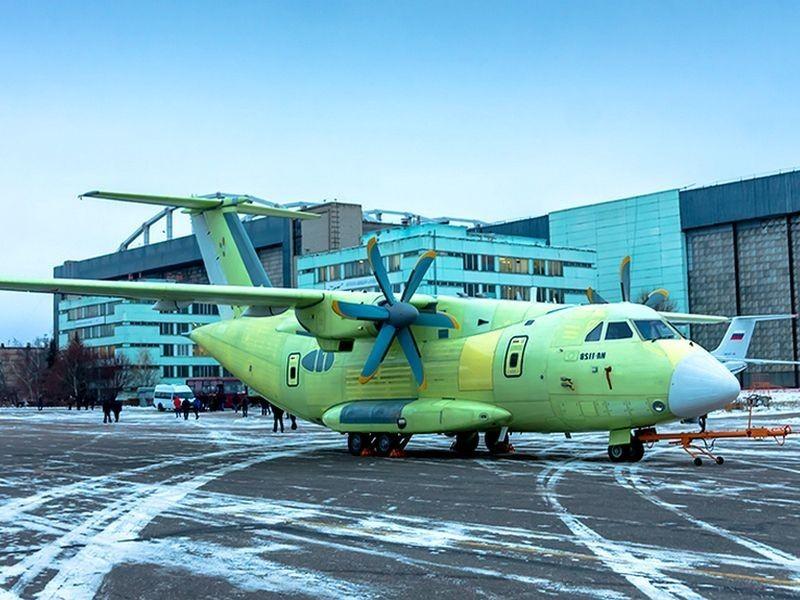 Второй образец военного-транспортника ИЛ-112В выпустил Воронежский авиазавод