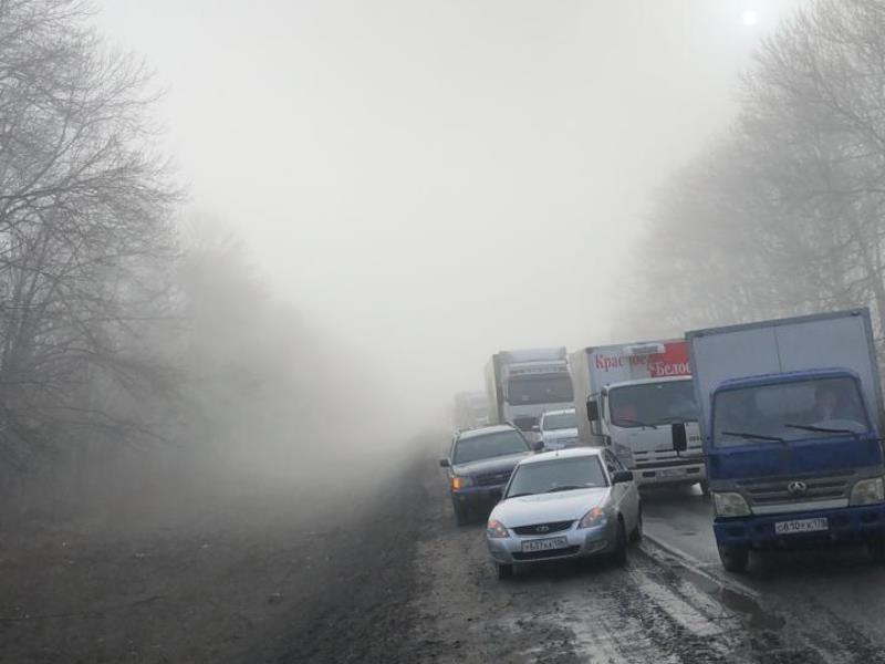 Опубликовано видео страшной аварии на воронежской трассе