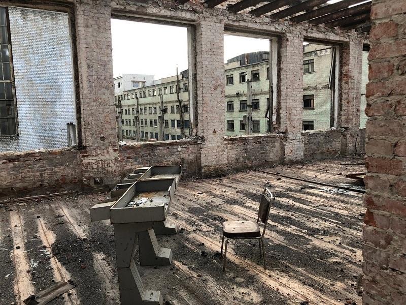 Сверхъестественные снимки экскаваторного завода опубликовали в Воронеже