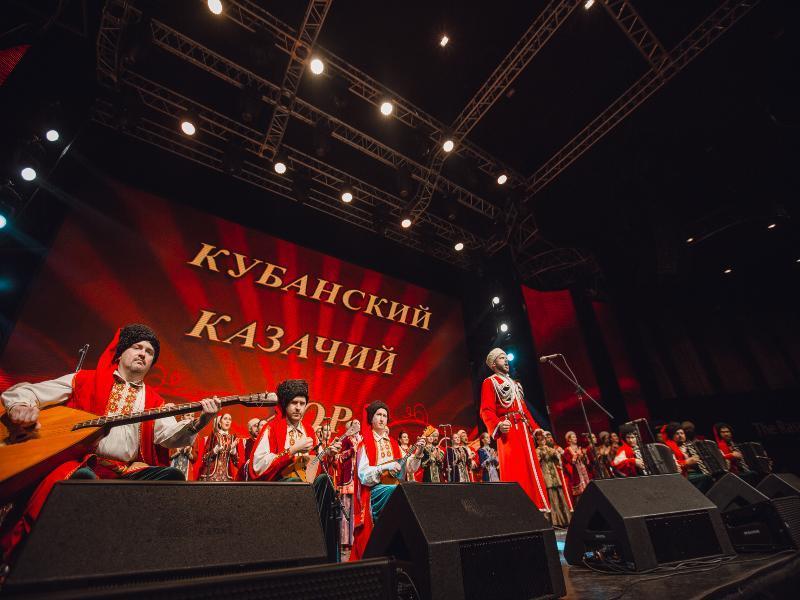 Легендарный Кубанский казачий хор выступит с большим концертом в Воронеже
