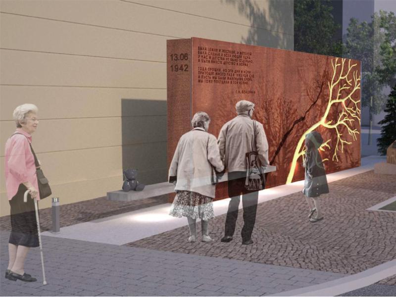 Как будет выглядеть «Стена памяти», показали в мэрии Воронежа
