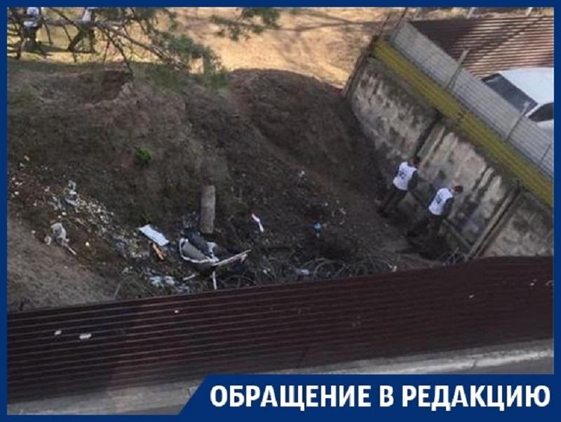 Курсанты устроили общественный туалет под окнами жителей Воронежа