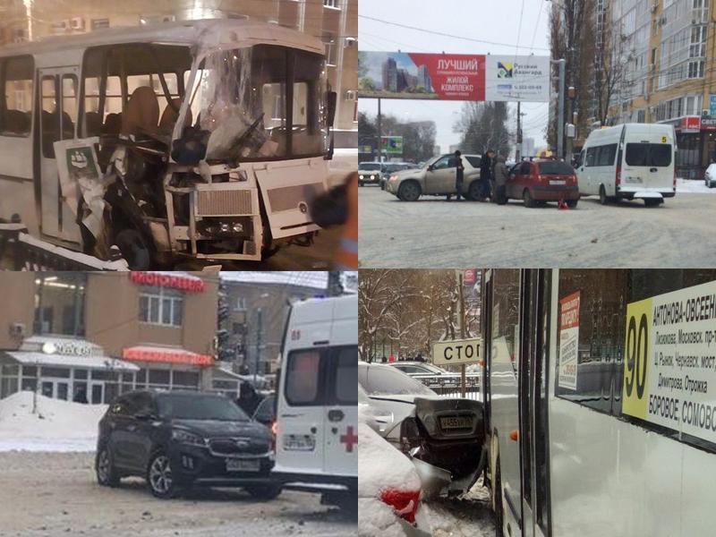 Старания коммунальщиков не спасли Воронеж от эпидемии ДТП