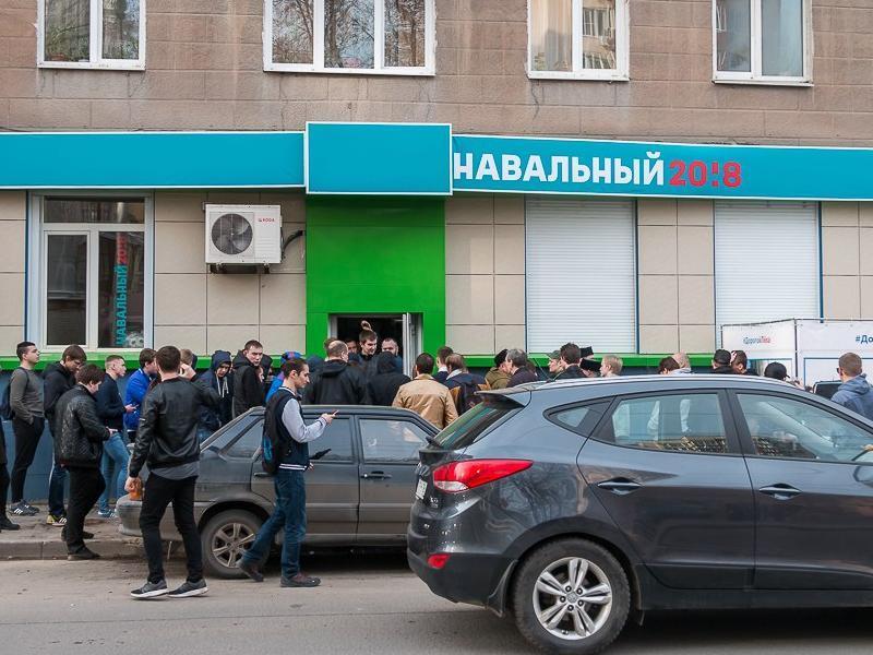 Силовики нагрянули с обысками к сотрудникам воронежского штаба Навального