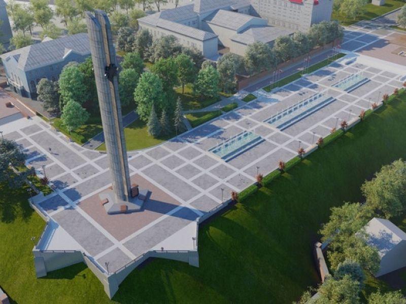 Стало известно, кто выполнит реконструкцию площади Победы в Воронеже