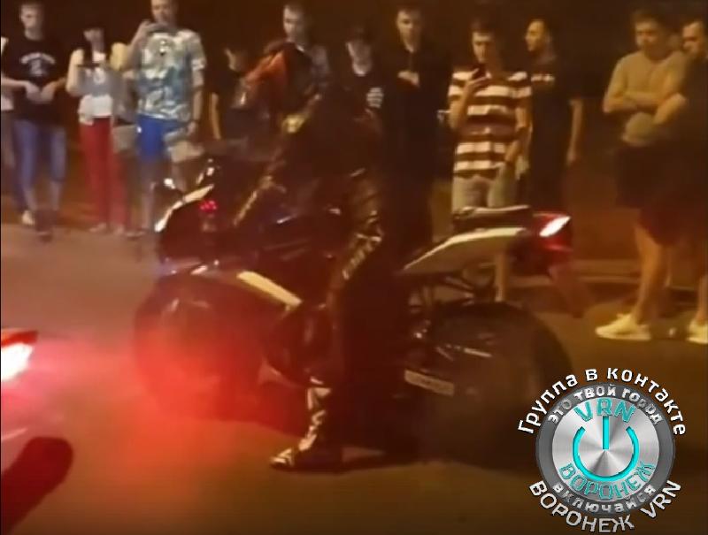 Дерзкую красоту уличных гонок показали на видео в Воронеже