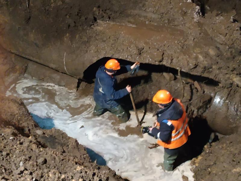 Отключение воды из-за масштабной аварии проверяет прокуратура Воронежа