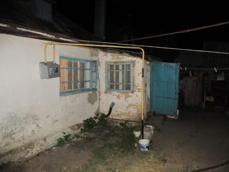 Опубликованы снимки дома  в Воронежской области, где женщина убила мужа