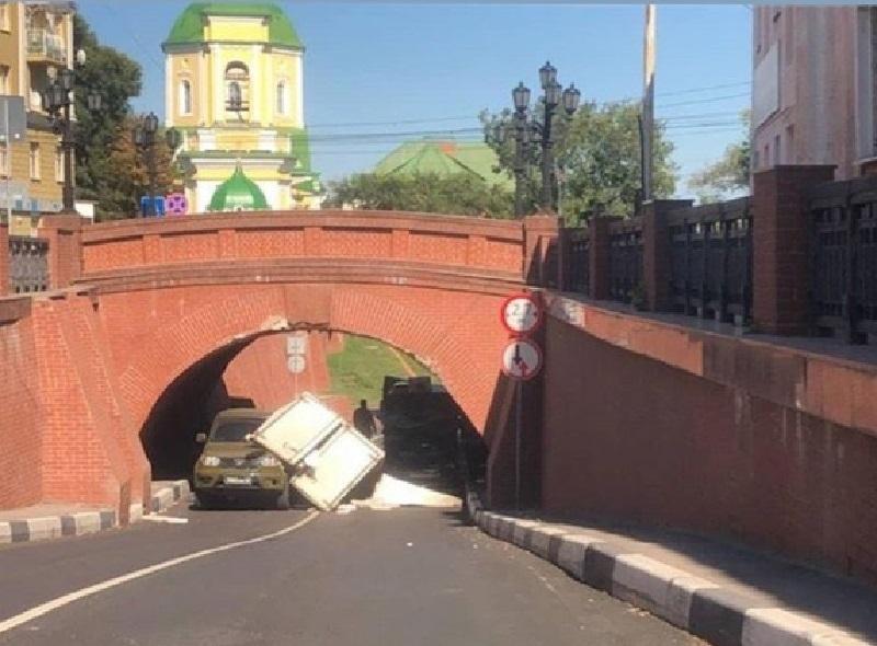 Очередную жертву Каменного моста сняли на фото в Воронеже
