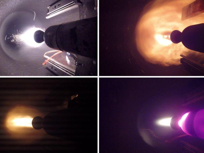 Испытание двигателя частного космического завода попало на видео под Воронежем