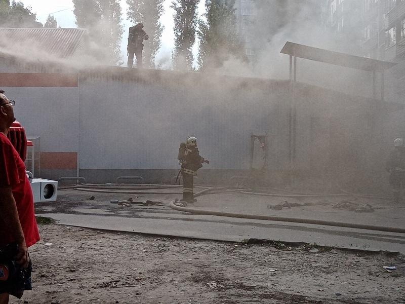 В Воронеже по одному адресу произошло два пожара