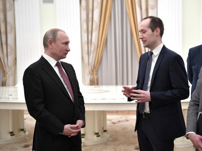 Воронежский бизнесмен встретился с Владимиром Путиным