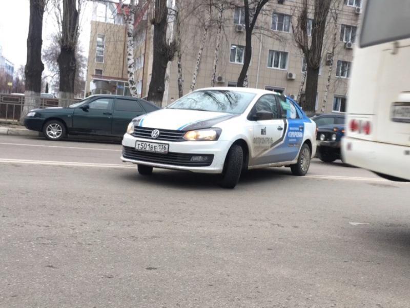 Машина «Горпарковок» показала превосходство над другими водителями в Воронеже