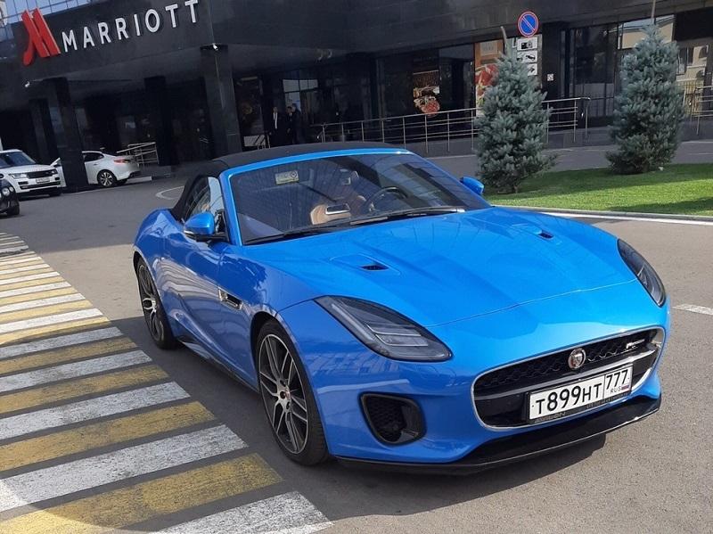 Очень редкий Jaguar за баснословные деньги обнаружили в Воронеже