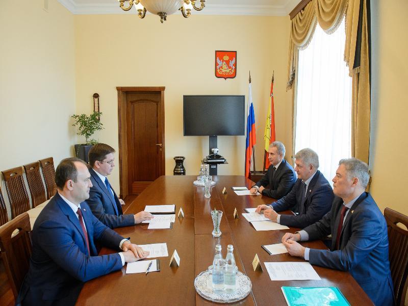 Воронежскому губернатору представили главного госинспектора РФ по ЦЧР в области охраны окружающей среды