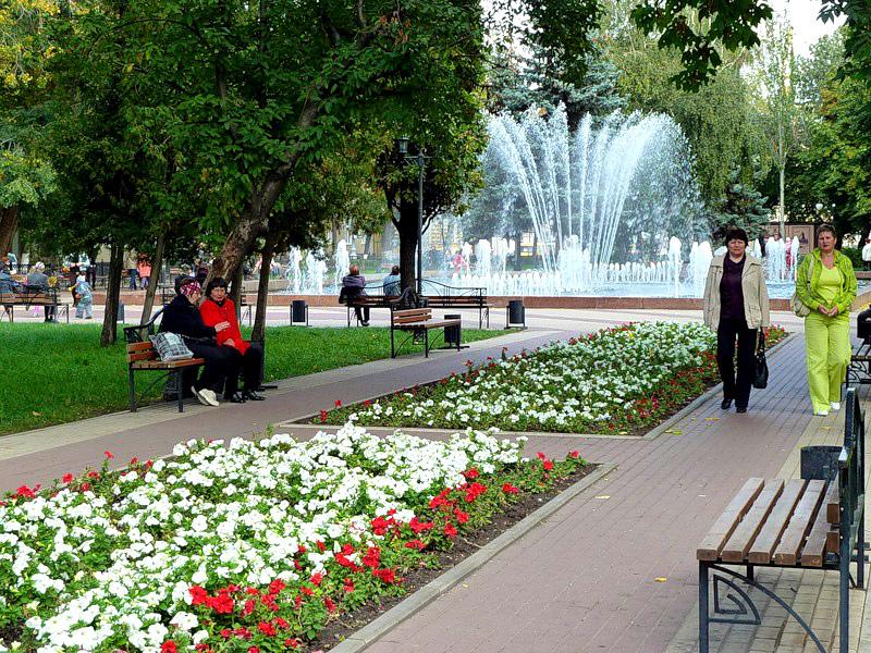 Кольцовский сквер Воронежа озарится русскими народными песнями