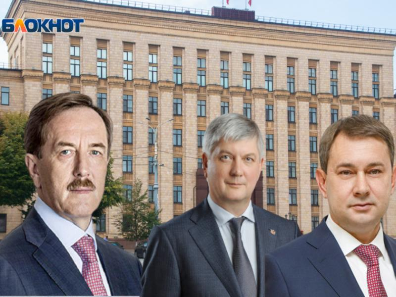 Гордеева втиснули перед Гусевым и Нетесовым в поздравлении воронежцев