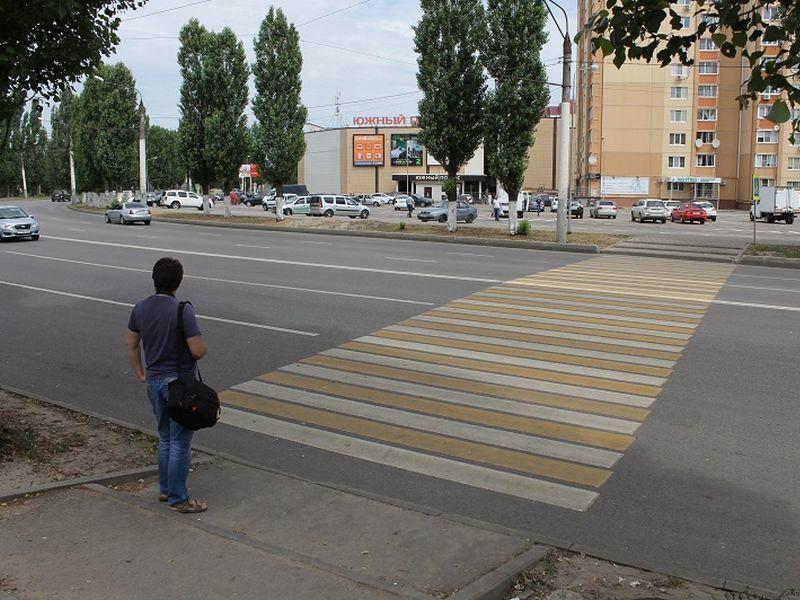 Все пешеходные переходы Воронежа планируют сделать регулируемыми