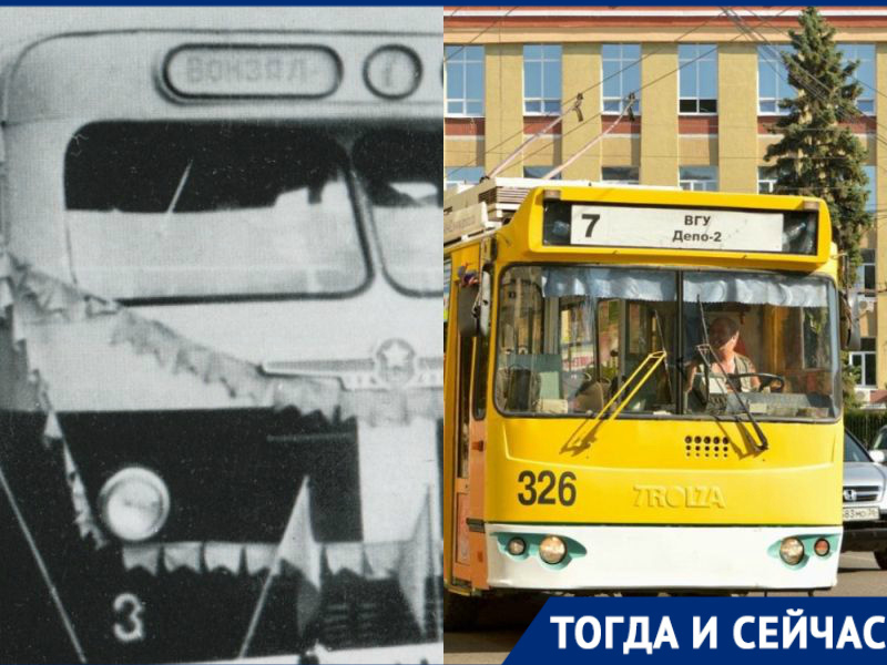 Как уничтожали воронежский троллейбус