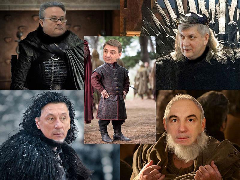 Власть обернулась в персонажей последней «Игры престолов» в Воронеже