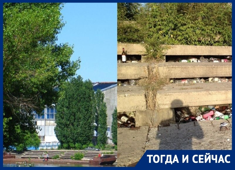 В какой гадюшник превратилось живописное место на левом берегу Воронежа