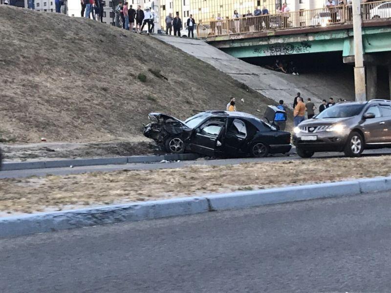 На водителя вылетевшего с моста Mercedes возбудили уголовное дело в Воронеже
