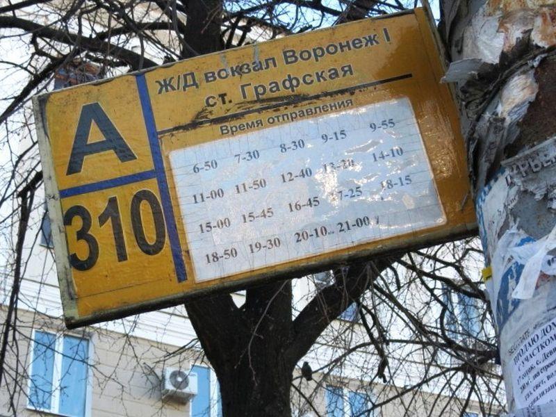 От мэра Вадима Кстенина воронежцы потребовали точного расписания транспорта
