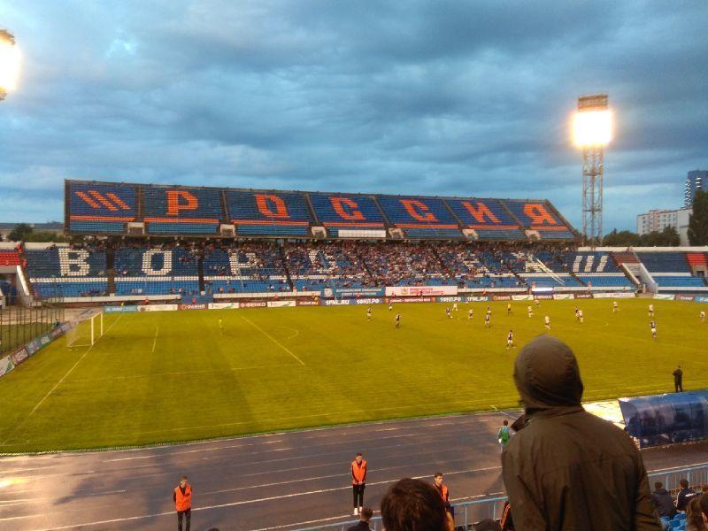 В первом матче сезона воронежский «Факел» уступил «Торпедо»
