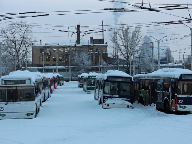 Бесславный конец троллейбусов наглядно показали в Воронеже