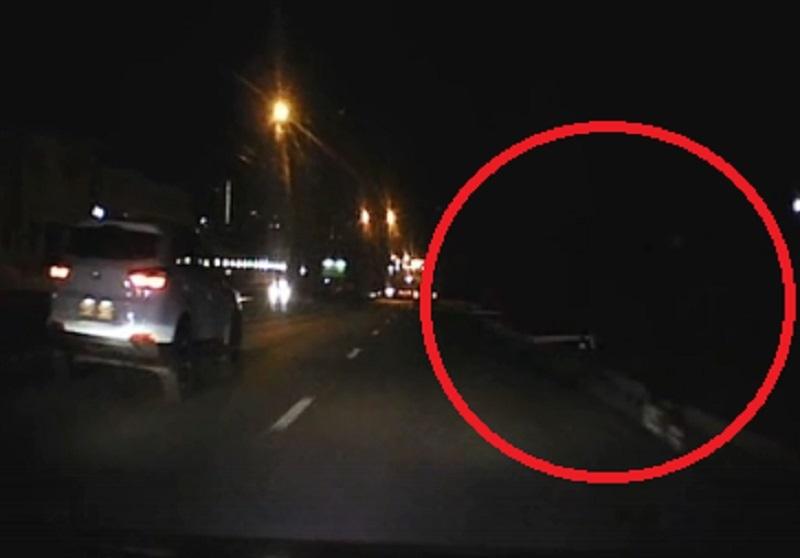Главная опасность для водителей ночью попала на видео в Воронеже