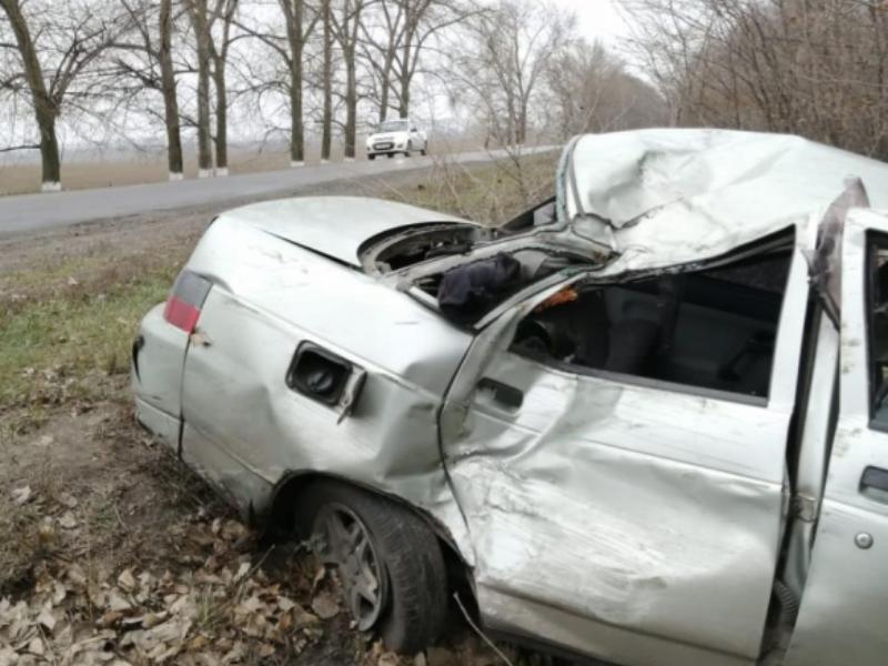 Последствия пьяного ДТП с четырьмя пострадавшими сняли на воронежской дороге