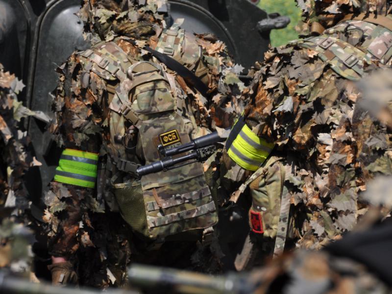 ФСБ отработала эвакуацию воронежцев на границе с Украиной
