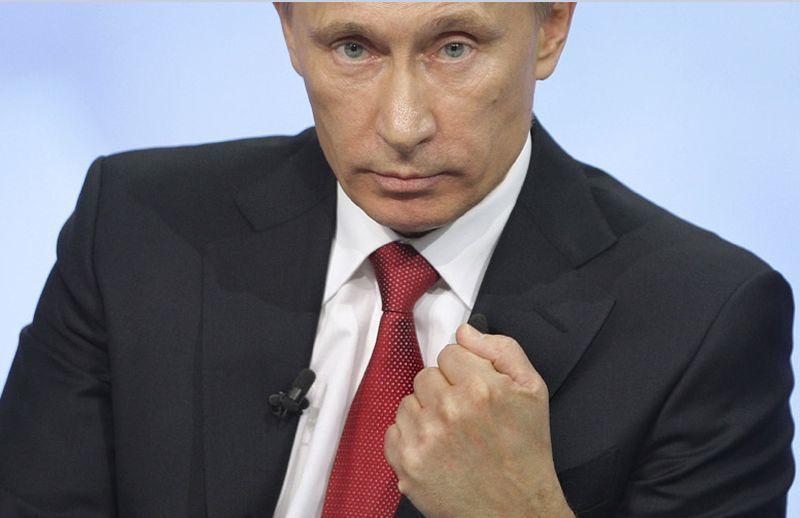 На открытии воронежского штаба Владимира Путина вышел конфуз