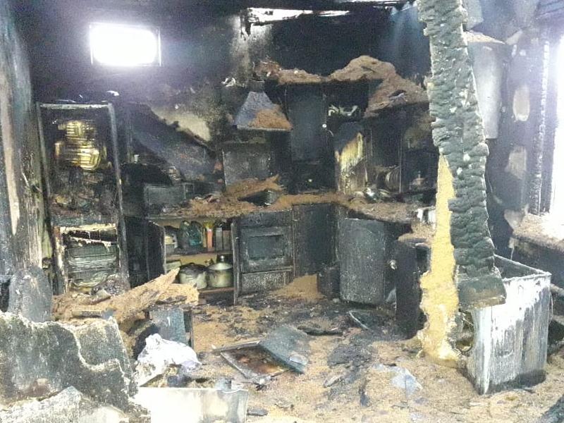 Опубликовано фото последствий сжигания жены под Воронежем