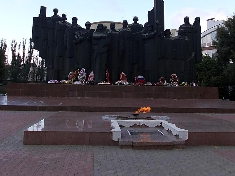 Вечный огонь погасят в центре Воронежа