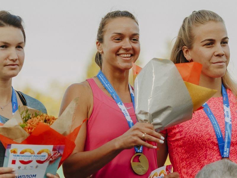 На Чемпионате России воронежская спортсменка дальше всех метнула копье
