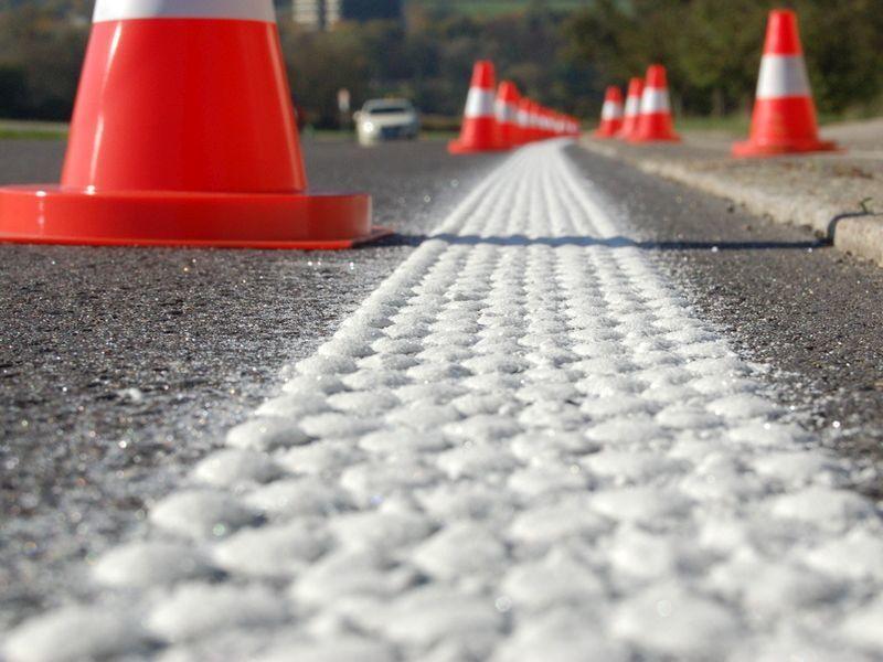 Разметка воронежских дорог обойдется бюджету в 107 млн рублей