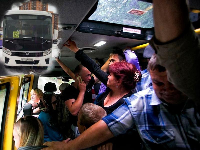 Воронежцы пришли в бешенство от 125-ого автобуса малой вместимости
