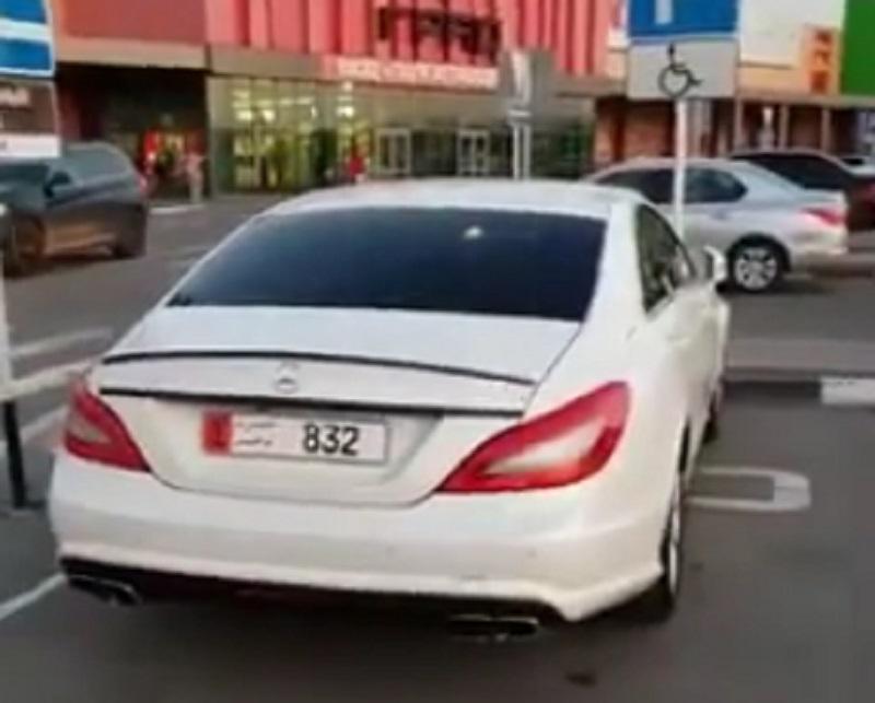 Мощный Mercedes из Эмиратов указал на место российских правил в Воронеже