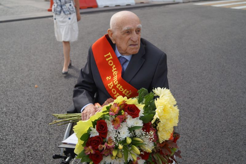 На День города Воронежа чествовали его 100-летнего защитника