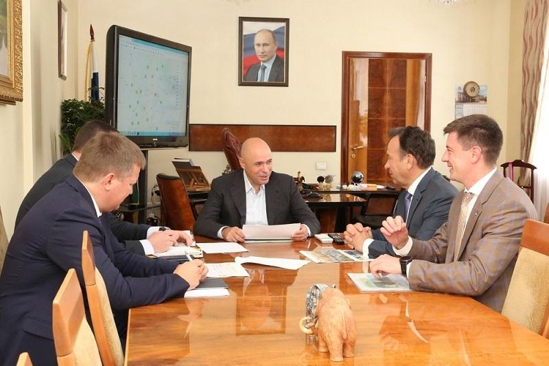 Владимир Салмин посетил с рабочим визитом Липецкую область