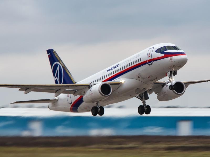 Sukhoi Superjet 100 с суперэкономичными винглетами протестировали под Москвой