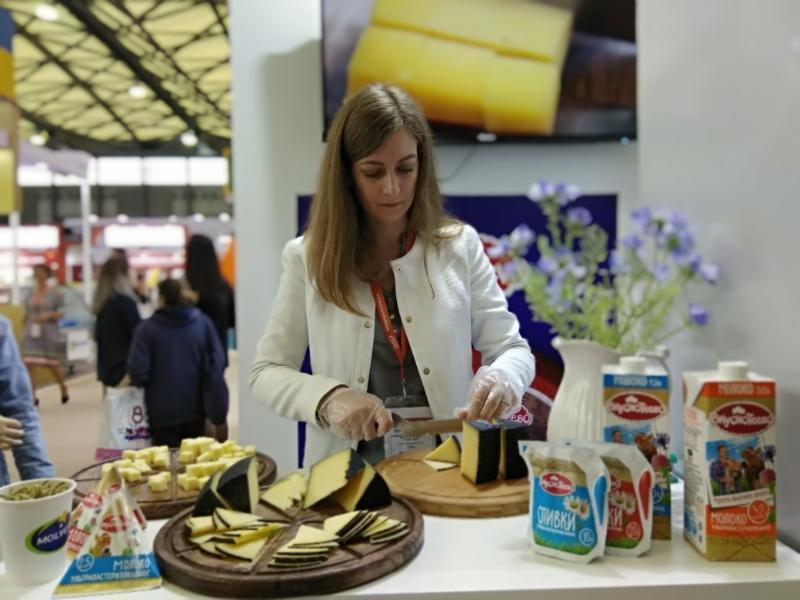 Воронежскую молочку достойно представили в Поднебесной