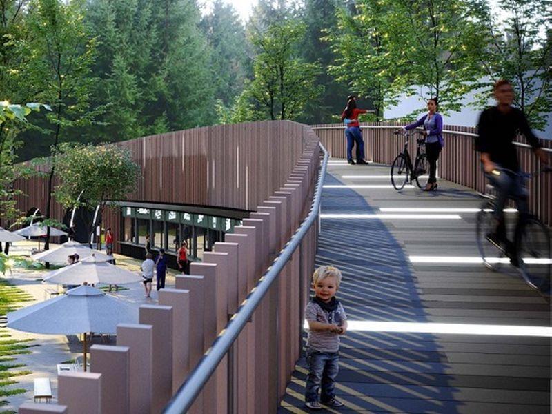 Благоустраивать парк «Орленок» в Воронеже будут строители торговых центров