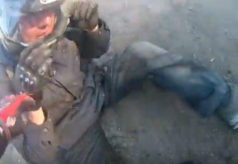Видео жесткого падения воронежского байкера вызвало злорадство