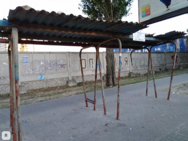 Пережившую апокалипсис остановку показали на фото в Воронеже