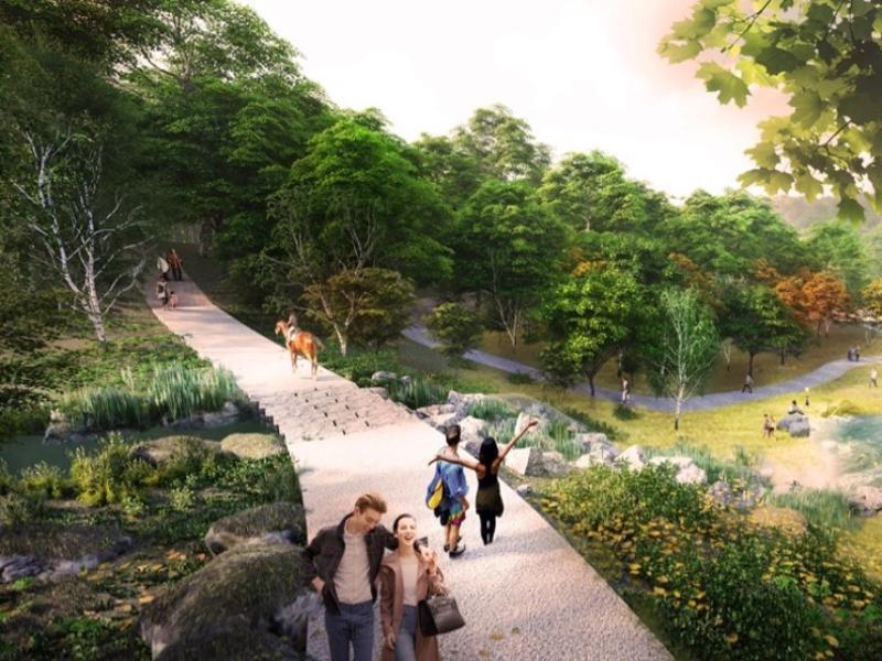 Воронежский центральный парк: панорамный мост, садовые террасы, тропа здоровья и активные программы круглый год