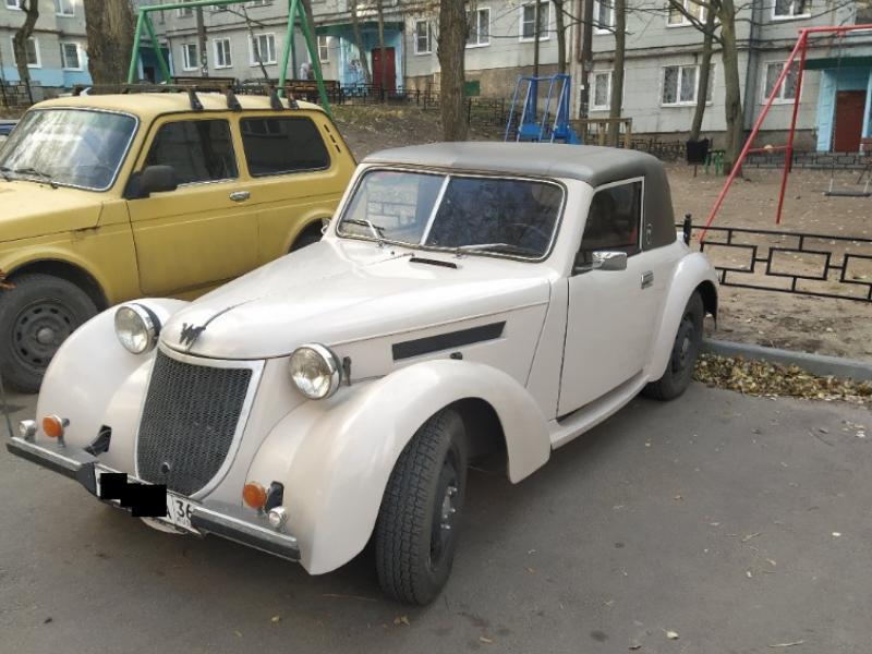 Предка современных кабриолетов нашли на парковке в Воронеже