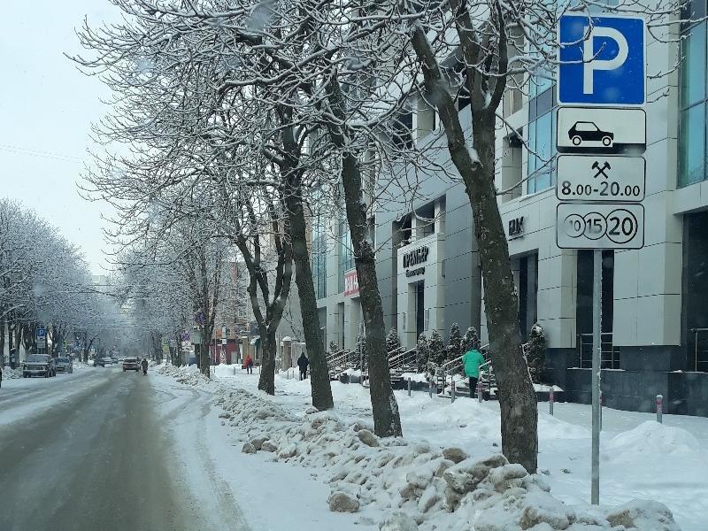 Улицы Воронежа частично освободят от платных парковок